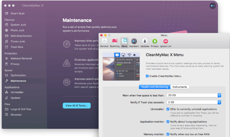 CleanMyMac X 4.6.5 Crack Incl Activation Number