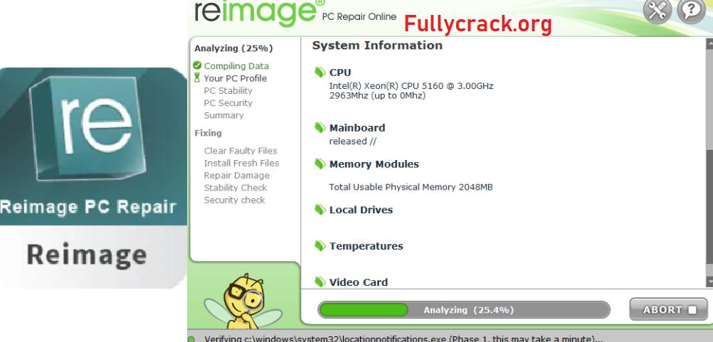 Reimage PC Repair Free Download
