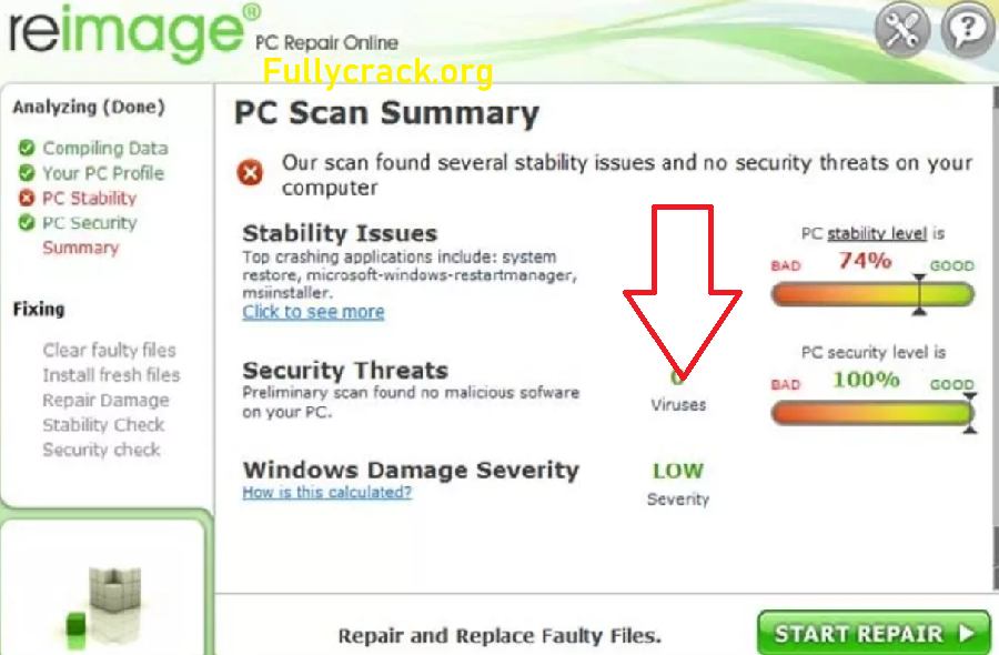 Reimage PC Repair 2020 Crack With License Keygen Full Version Download