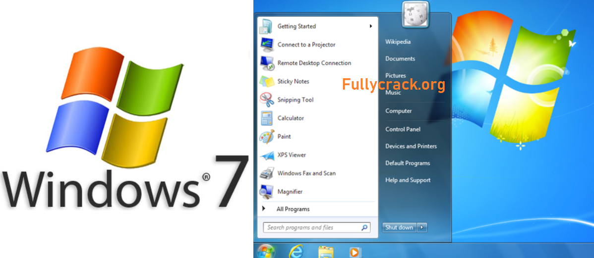 Windows 7 Free Download With Product Key + Activatior